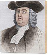 William Penn, English Coloniser Wood Print