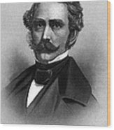 William T. G. Morton, American Dentist Wood Print