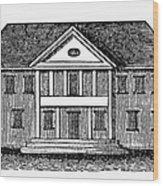 Williamsburg: Capitol Wood Print