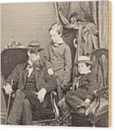 Willie & Tad Lincoln, 1862 Wood Print