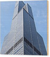 Willis-sears Tower In Chicago Wood Print