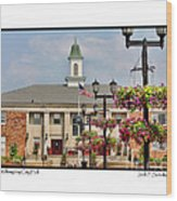 Willoughby City Hall Wood Print