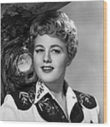 Winchester 73, Shelley Winters, 1950 Wood Print