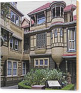 Winchester House - Door To Nowhere Wood Print