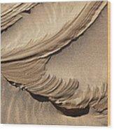 Wind Creation Wood Print