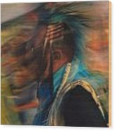Wind Dancer Wood Print