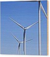 Wind Farm I Wood Print