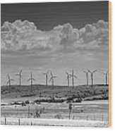 Wind Farm II Wood Print