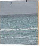 Wind Surfing Puerto Rico Wood Print