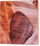 Wind Tunnel Wood Print