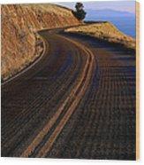 Winding Road Wood Print by Garry Gay