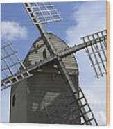 Windmill 10 Wood Print