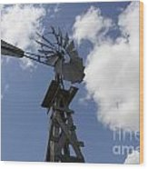 Windmill 4 Wood Print