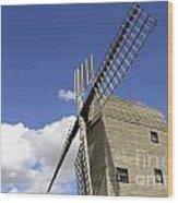 Windmill 7 Wood Print