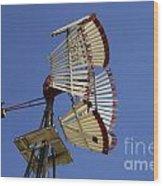 Windmill 8 Wood Print