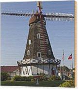 Windmill Danish Style 1 A Wood Print