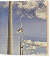 Windmill Ridge Wood Print