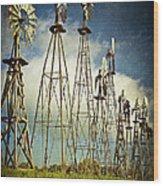 Windmills Of My Mind Wood Print