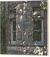 Window Cove Wood Print