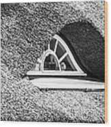 Window In A Roof Wood Print