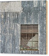Window In Time 2 Wood Print