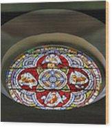 Window In Trinity Church I Wood Print