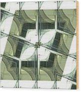 Window Mathematical 2 Wood Print