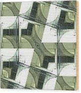 Window Mathematical  Wood Print