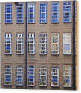 Window Matrix Wood Print