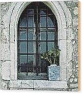 Window Of A Chapel Wood Print