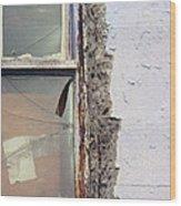 Window Pain  Wood Print