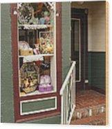 Window Shop Detail Wood Print