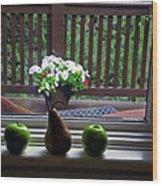 Window Sill 4 Wood Print
