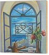 window to Jaffa Wood Print