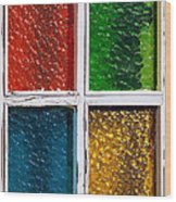 Windows Wood Print by Carlos Caetano