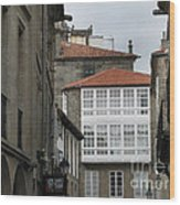 Windows Of Galicia Wood Print