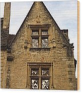 Windows Of Sarlat Wood Print