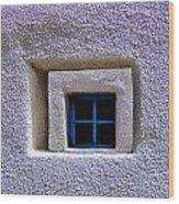 Windows Of Taos Wood Print