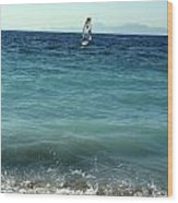 Windsurf Wood Print
