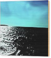 Windsurfing Greece Wood Print