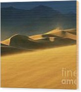 Death Valley Windswept 2 Wood Print