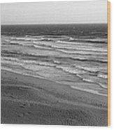 Windy Surf Wood Print
