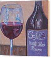 Wine And Chocolate Wood Print