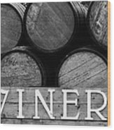 Winery  Wood Print