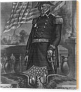 Winfield Scott, American Army General Wood Print