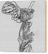 Winged Victory Of Samothrace Wood Print
