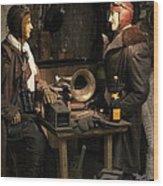 Wingman Wood Print