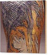 Wings Wood Print by Judith Birtman