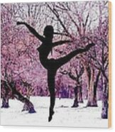Winter Fantasy 01 Wood Print