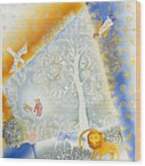 Winter In Paradise Wood Print